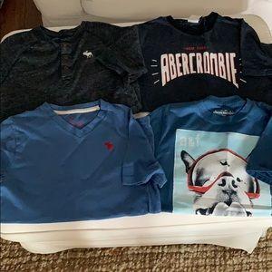 Abercrombie kids tshirts